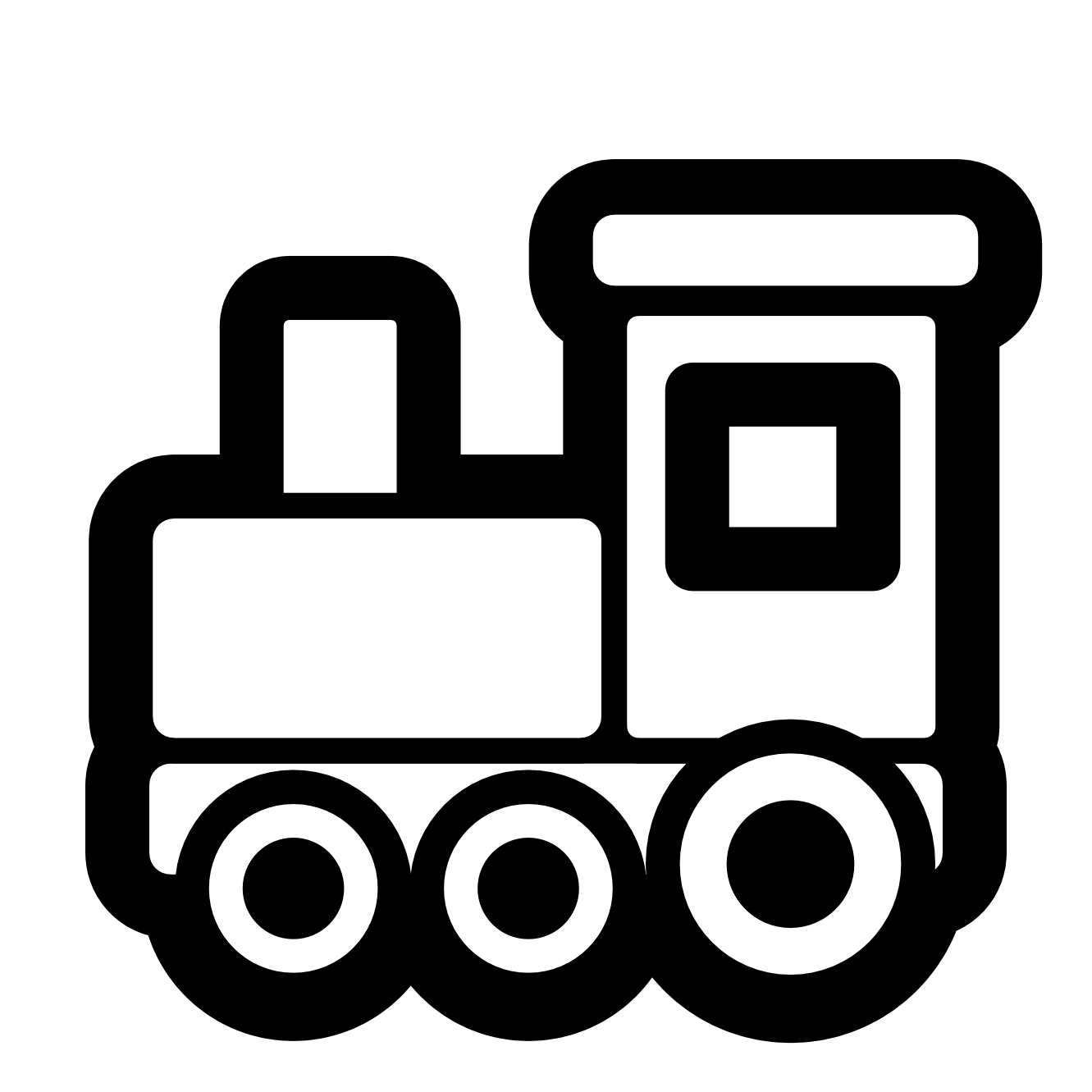 1331x1331 Train Clipart Black And White Free Images