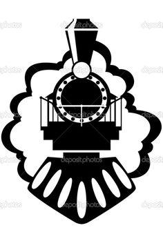 236x333 Stock Vector Retro Steam Train With Coach (Vector Illustration