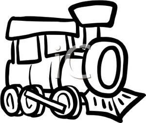 300x254 Train Clipart Black And White