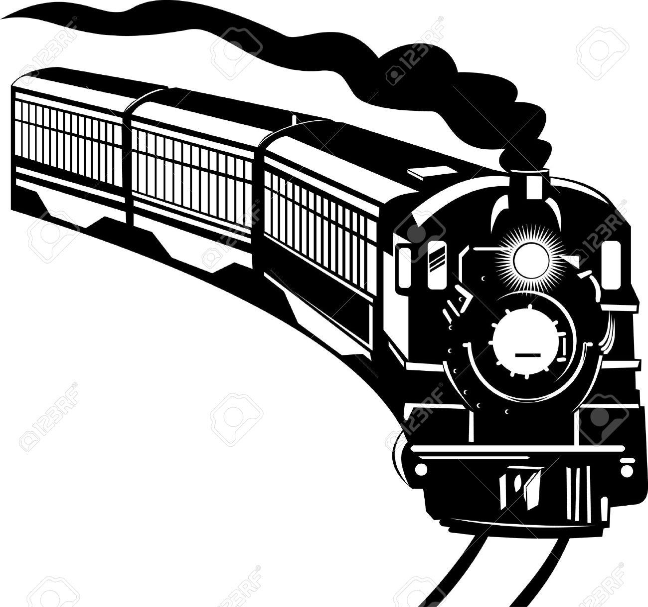 1300x1216 Clipart Of Steam Train 101 Clip Art