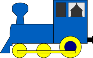 300x189 Simple Train Engine Clip Art