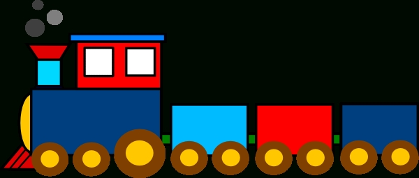 600x256 Free Train Clipart Pictures
