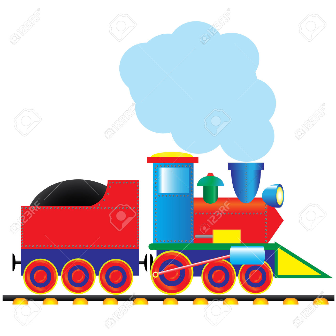 1300x1300 Engine Clipart Locomotive