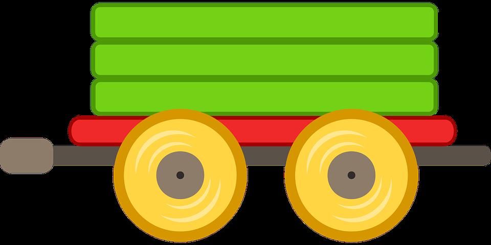 960x480 Railways Clipart Green Train