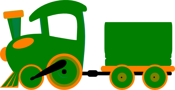 600x309 Toot Toot Train And Carriage Clip Art