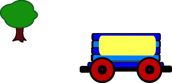 600x291 Train Carriage Clipart
