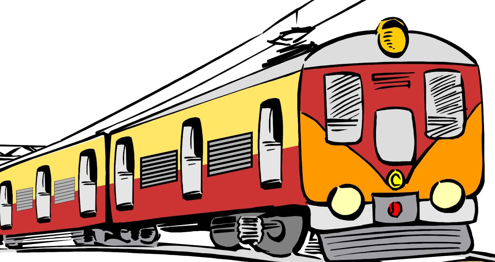 1629x861 Train Clipart Passenger Train