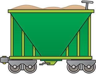 310x238 Boxcar Train Cliparts