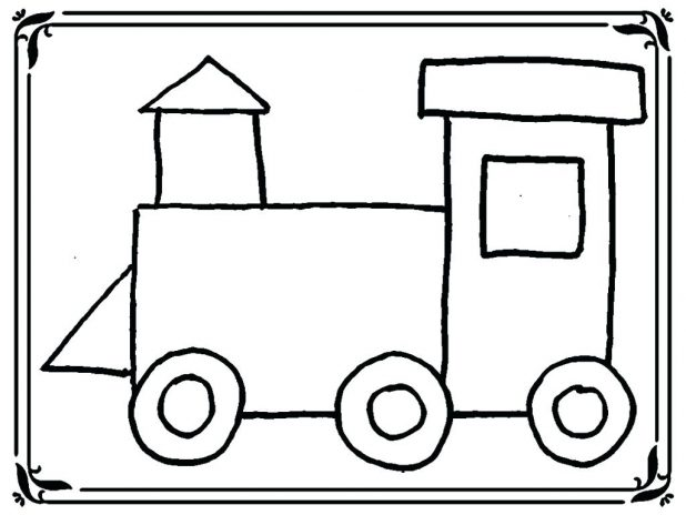 618x464 Free Printable Train Coloring Pages For Kids Halloween Pdf