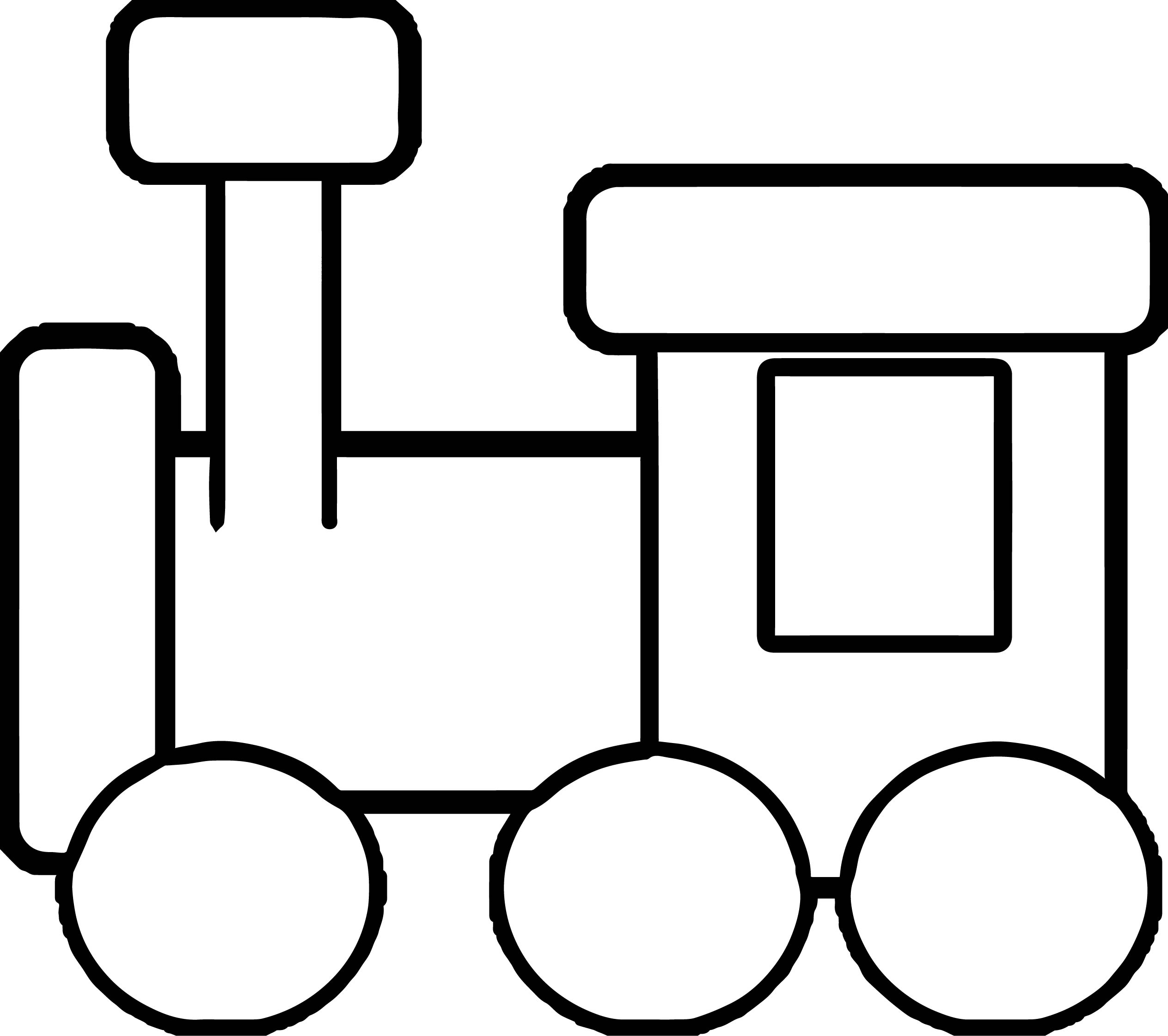 2527x2242 Kindergarten Train Coloring Page Wecoloringpage