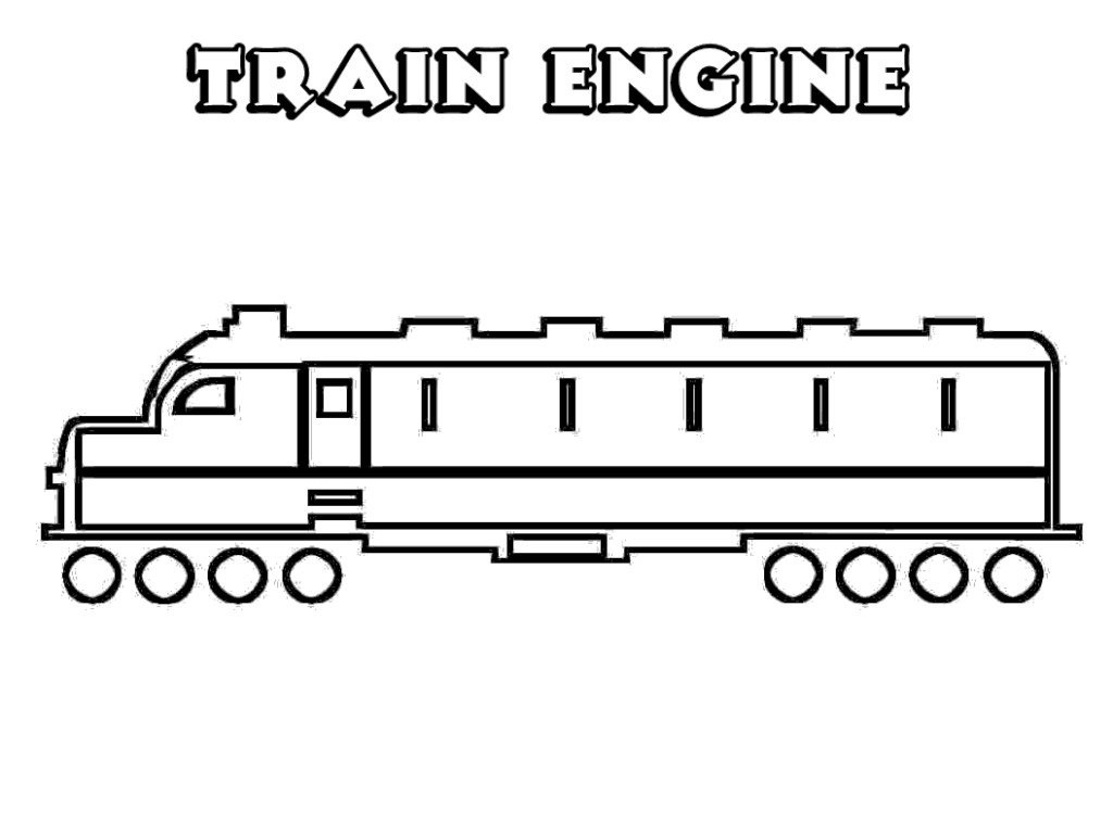 1024x768 Printable Train Coloring Pages For Kids Fitfru Style