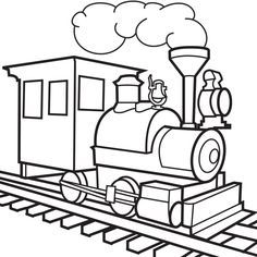 236x236 Super Simple Train Coloring Pictures For Kindergarten