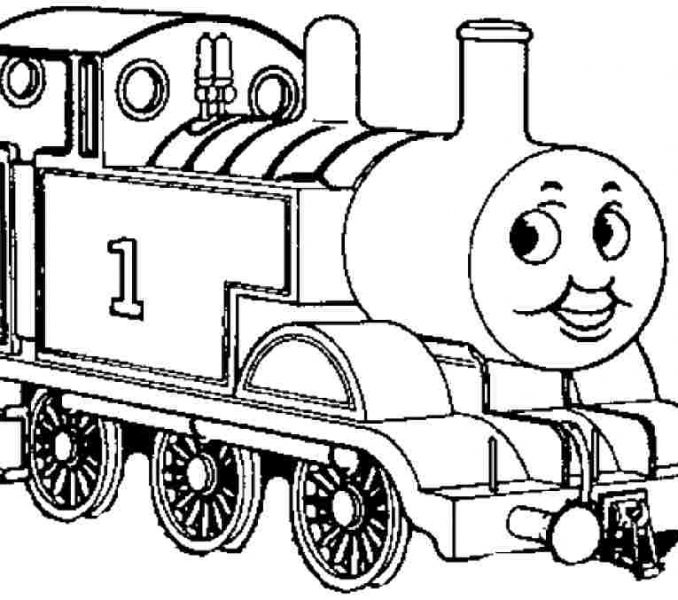 678x600 Thomas the train coloring pages thomas train colouring pages