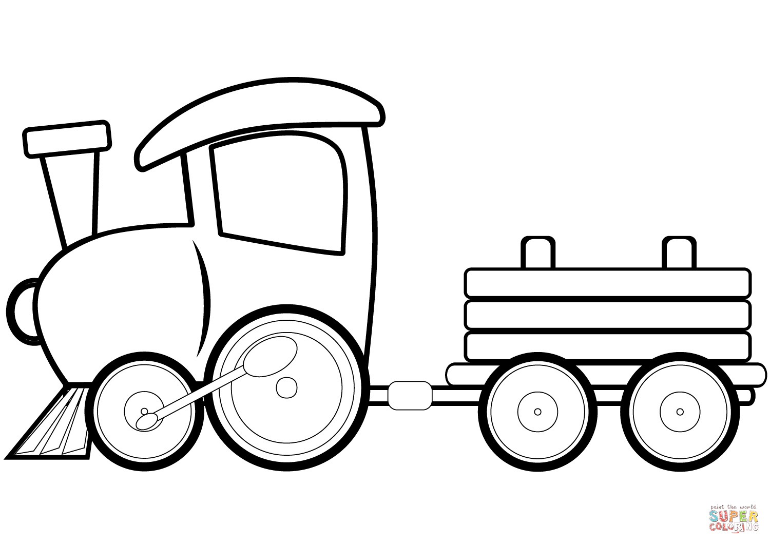 1500x1060 Toy Train Coloring Page Free Printable Coloring Pages