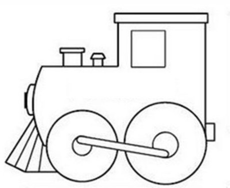 460x377 Train Coloring Pages Coloring Lab Sydney's Birthday