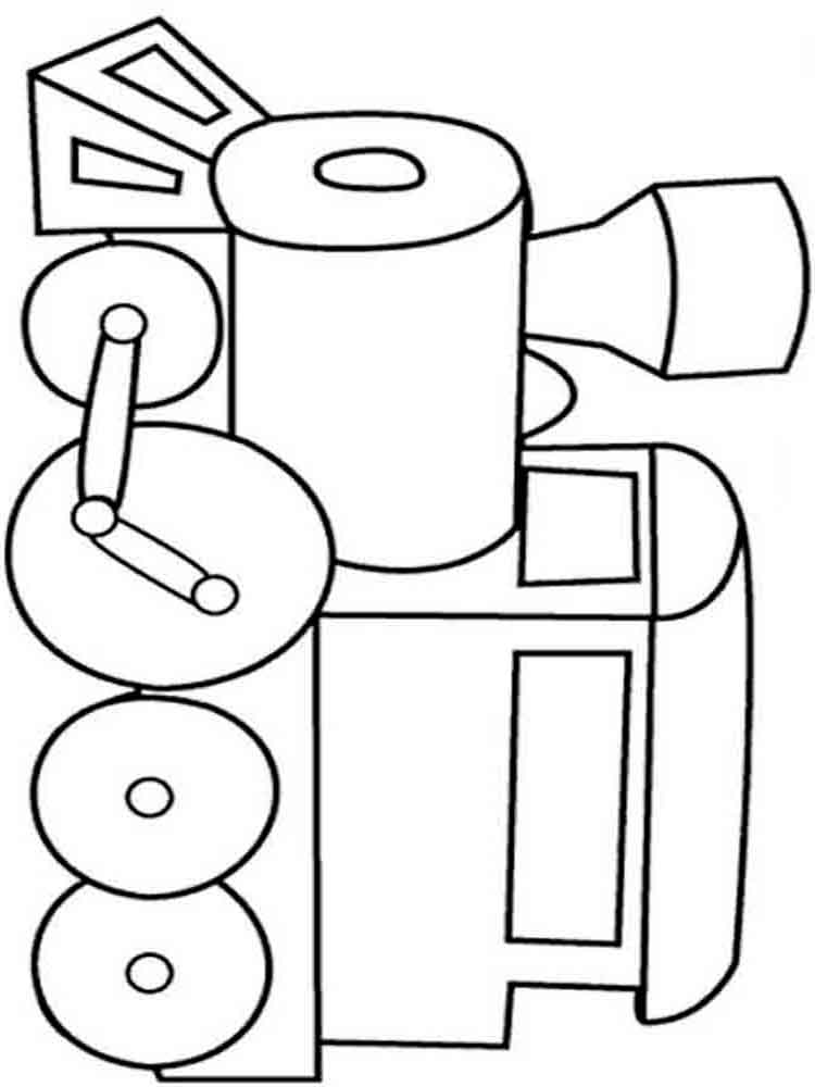750x1000 Train Coloring Pages. Download And Print Train Coloring Pages