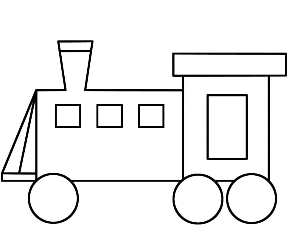 970x756 Transportation Free Printable Train Train Painting Games