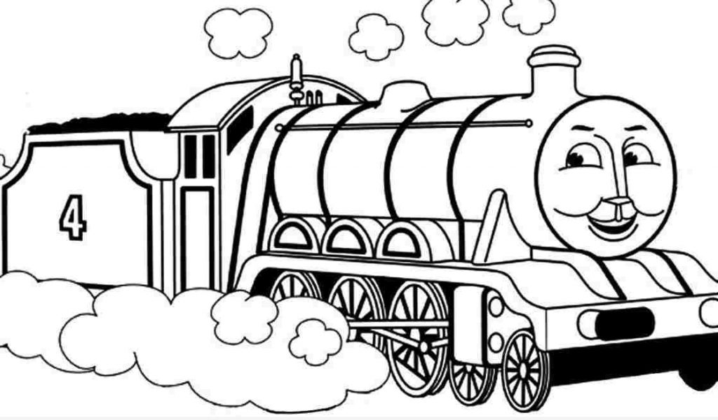 1024x600 Thomas The Train Coloring Pages To Print Timykids