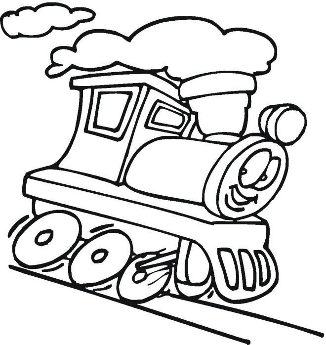 Train Drawing For Kids