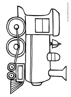 236x321 Free Online Train Colouring Page Free, Printing And Template