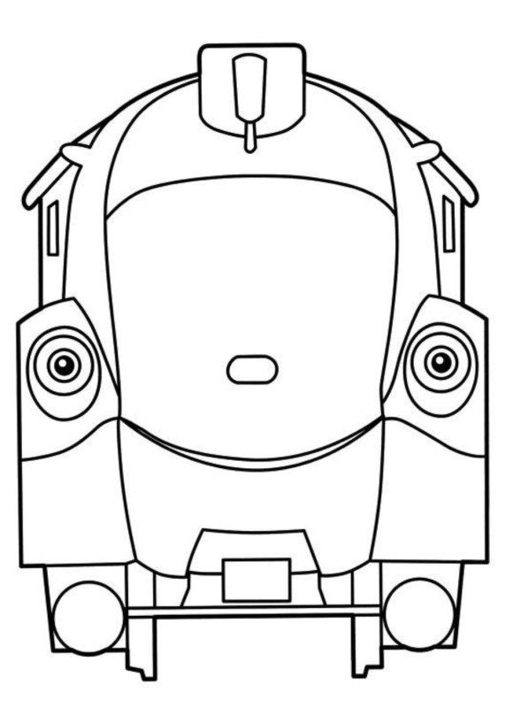 580x800 Train Chuggington Coloring Pages Cartoon Coloring Pages