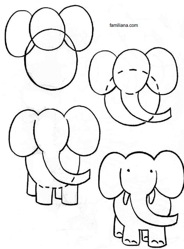 646x871 Train Your Kids Drawing Animal Step By Step