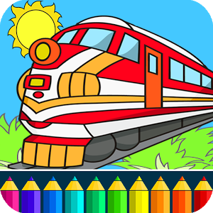 300x300 Train Drawing Game For Kids Apk Download