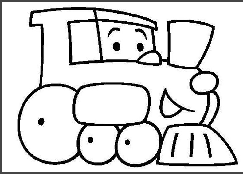 791x567 Train Colouring Pages For Kids