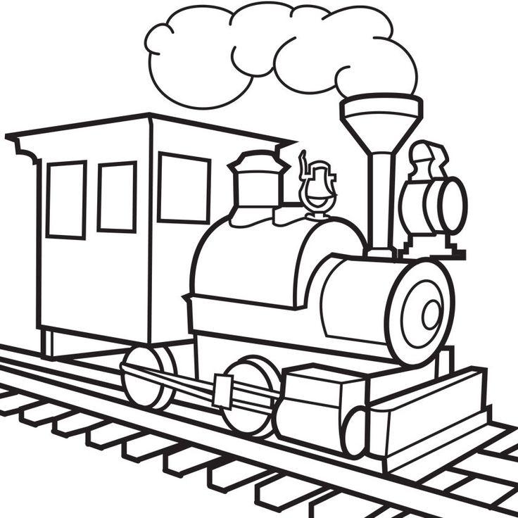 736x736 Drawn Railroad Kid Train