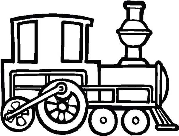 600x457 Drawn Train
