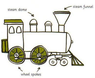 390x317 Drawn Train Rail