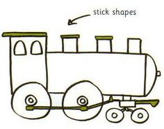 236x185 How To Draw A Steam Engine Apfk Drawings Engine