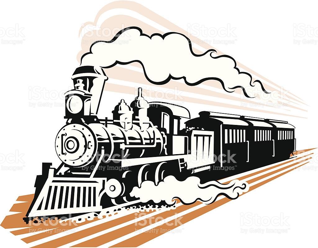1024x798 Steam Clipart Old Train