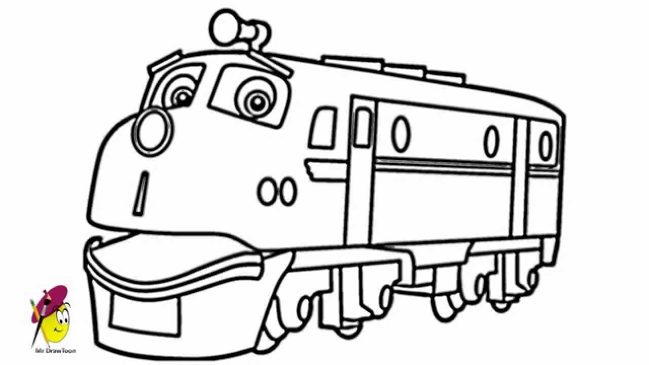 1280x720 Chuggington Drawing For Kinds
