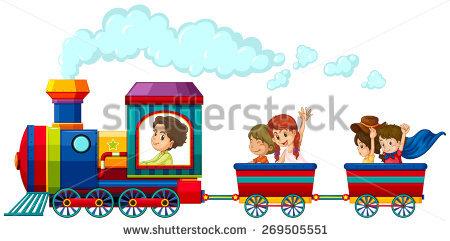 450x241 Drawn Railroad Children'S