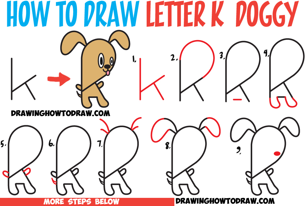 974x658 Huge Guide To Drawing Cartoon Characters From Lowercase Letter K