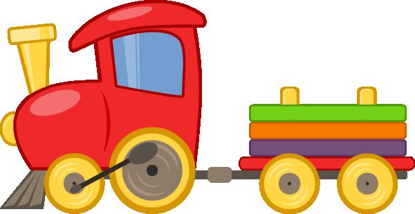 600x309 Short Train Clipart