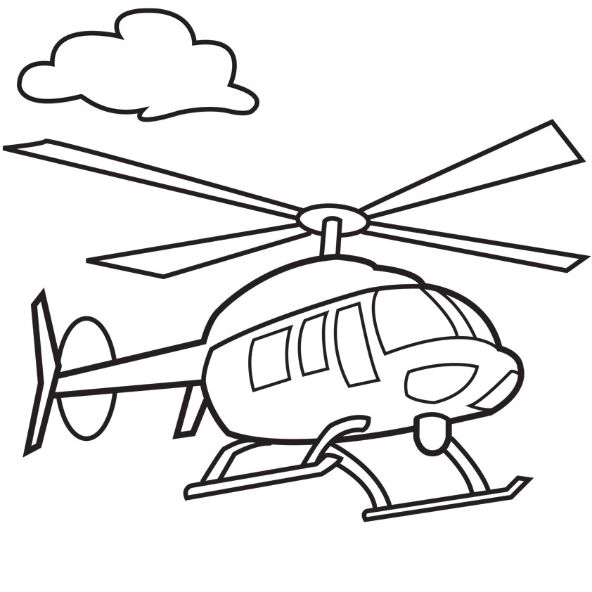 842x842 Helicopter Drawing For Kids Train Drawings For Kids Free Download