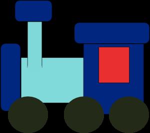300x265 Kiddy Train Clip Art