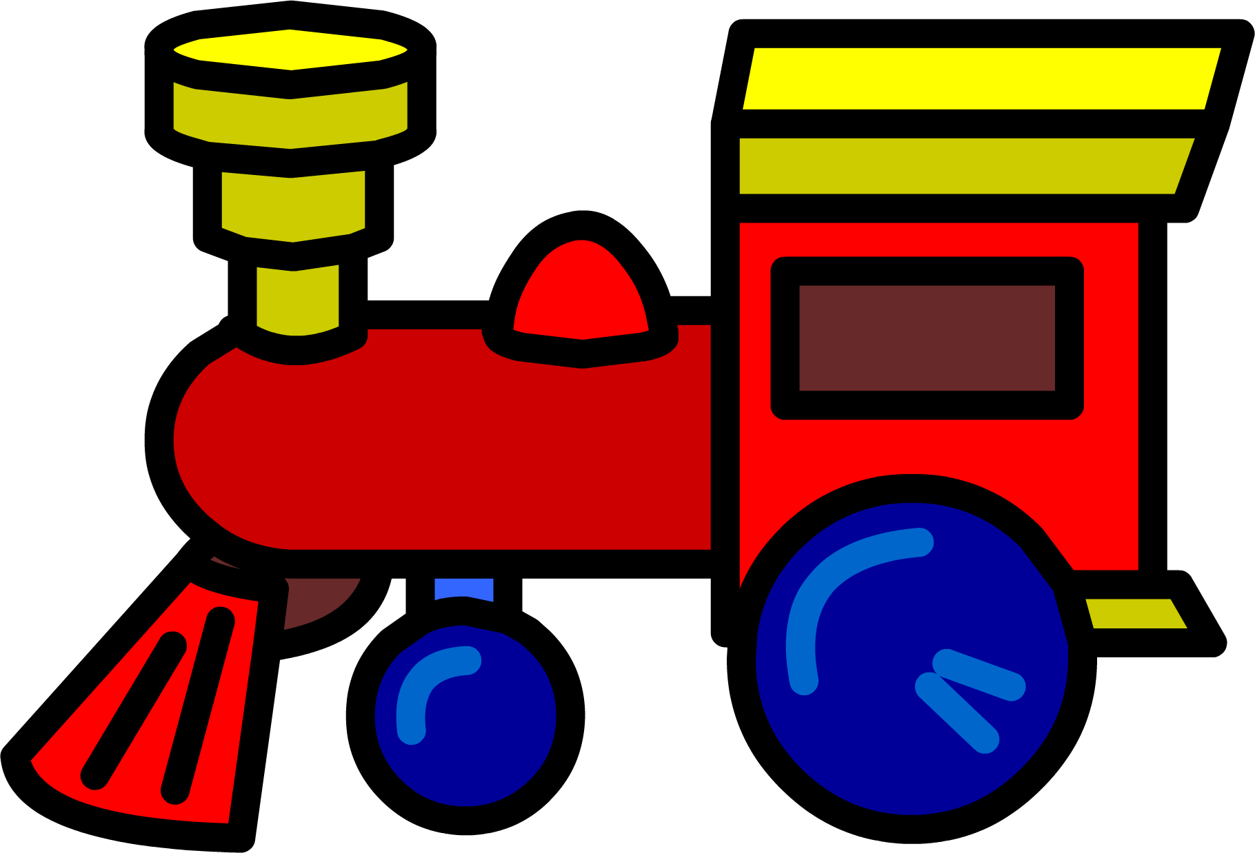 1820x1238 Railroad Clipart Toy Train