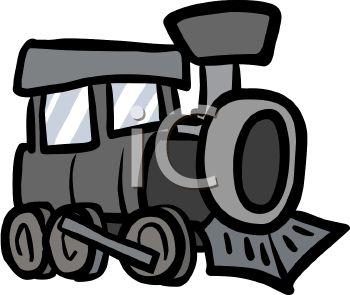 350x295 Royalty Free Clip Art Image Toy Train Steam Engine