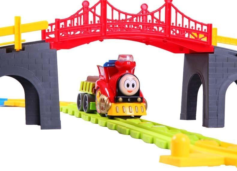 790x570 Kids Toy Electric Train Toy Set Boy's Model Toys Children's Train