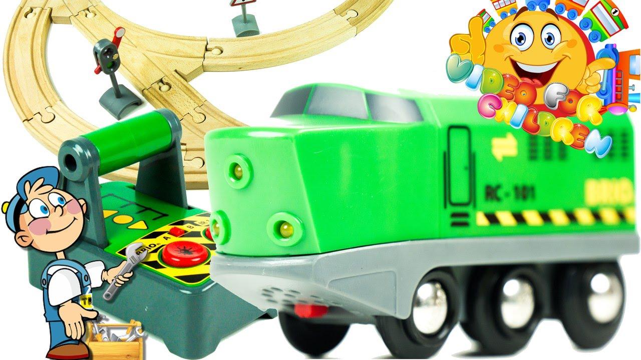 1280x719 Brio Railway 33517 Remote Control Train Set