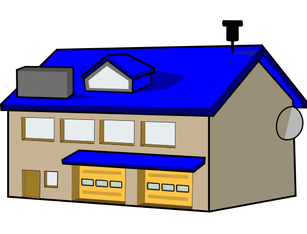 600x457 Train Station Clipart Police Station Building