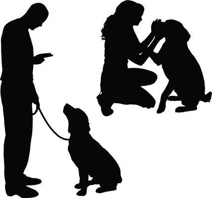 Training Dog Cliparts