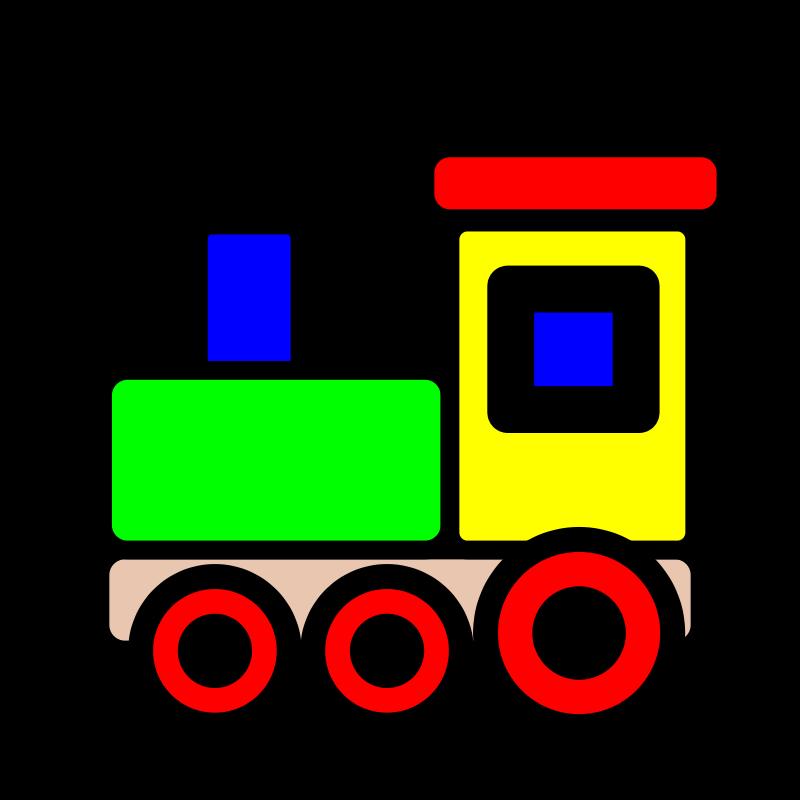 800x800 Clip Art Train Image