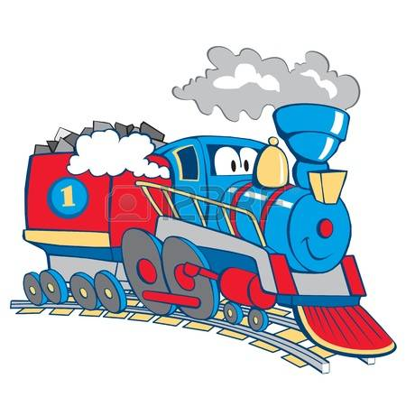 450x450 Railroad Clipart Long Train