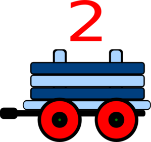 299x282 Train Clipart Number Train