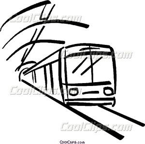 300x298 Subway Train Vector Clip Art