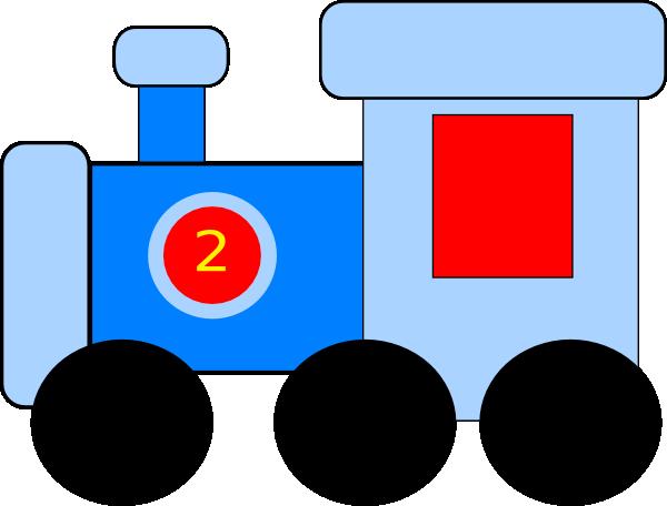 600x456 Blue Train Clip Art